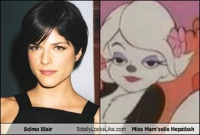 Selma Blair Totally Looks Like Miss Mam'selle Hepzibah