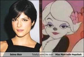 Selma Blair Totally Looks Like Miss Mam'selle Hepzibah