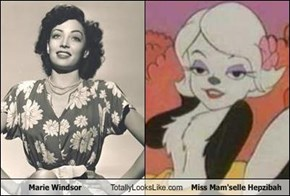Marie Windsor Totally Looks Like Miss Mam'selle Hepzibah