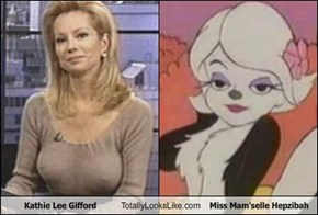 Kathie Lee Gifford Totally Looks Like Miss Mam'selle Hepzibah