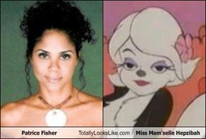 Patrice Fisher Totally Looks Like Miss Mam'selle Hepzibah