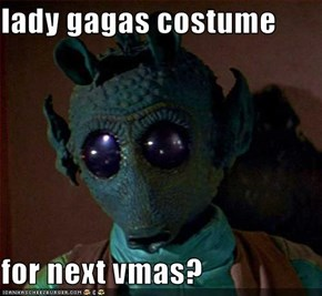 lady gagas costume  for next vmas?