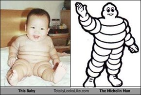 This Baby Totally Looks Like The Michelin Man