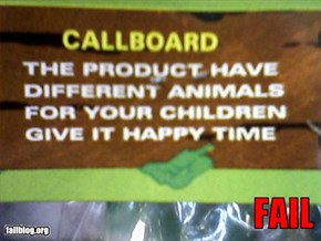 Dollar Store Toy English Fail