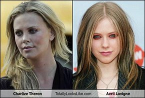 Charlize Theron Totally Looks Like Avril Lavigne