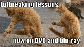 Lolbreaking lessons  now on DVD and blu-ray