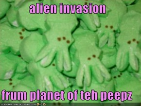 alien invasion  frum planet of teh peepz