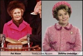 Pat Nixon Totally Looks Like Dolores Umbridge
