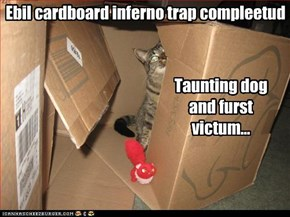 Ebil cardboard inferno trap compleetud