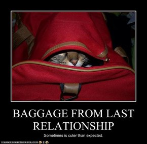 BAGGAGE FROM LAST RELATIONSHIP