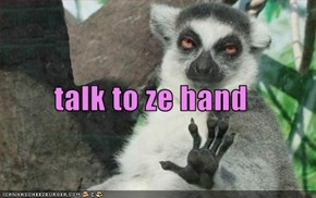 talk to ze hand