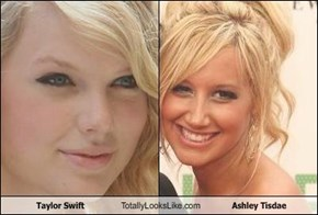 Taylor Swift Totally Looks Like Ashley Tisdae