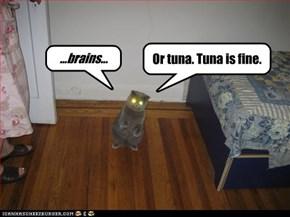 ...brains...