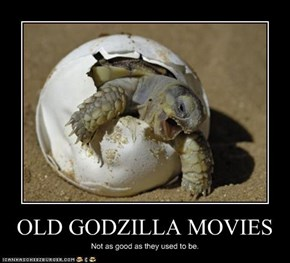 OLD GODZILLA MOVIES