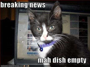 breaking news  mah dish empty