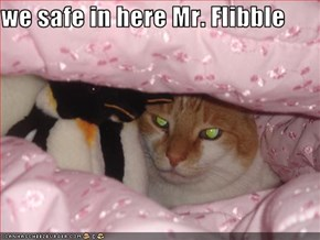 we safe in here Mr. Flibble