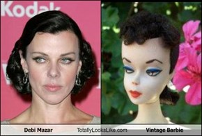 Debi Mazar Totally Looks Like Vintage Barbie
