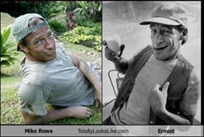 Mike Rowe Totally Looks Like Ernest