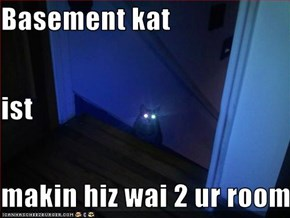 Basement kat ist makin hiz wai 2 ur room