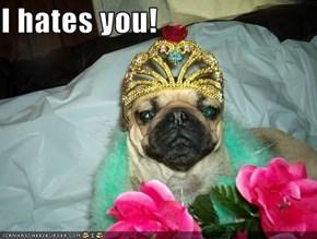 I hates you!