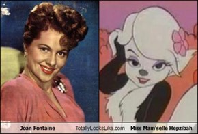 Joan Fontaine Totally Looks Like Miss Mam'selle Hepzibah
