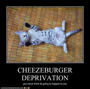 CHEEZEBURGER DEPRIVATION