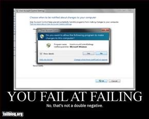 Another windows fail...