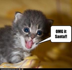 OMG it Santa!!