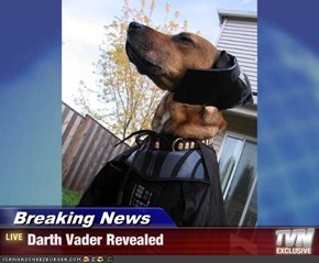 Breaking News - Darth Vader Revealed