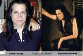 Glenn Danzig Totally Looks Like Sigourney Weaver