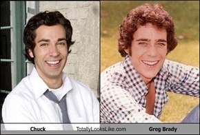 Chuck Totally Looks Like Greg Brady