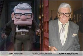 Up Character Totally Looks Like Zachos Chadjifotiou