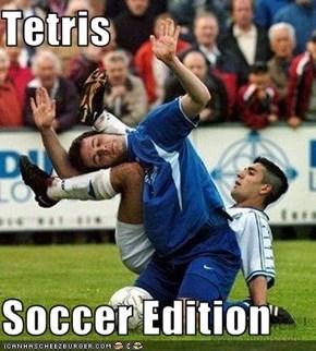 Tetris  Soccer Edition