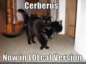 Cerberus    Now in LOLcat Version