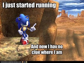 I just started running