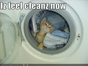 Iz feel cleanz now