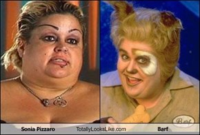 Sonia Pizzaro Totally Looks Like Barf