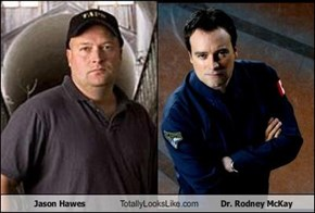 Jason Hawes Totally Looks Like Dr. Rodney McKay