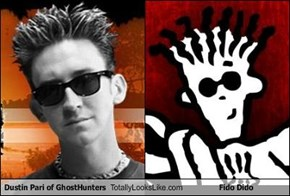 Dustin Pari of GhostHunters Totally Looks Like Fido Dido