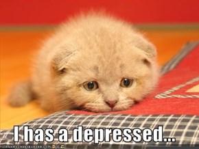 I has a depressed...