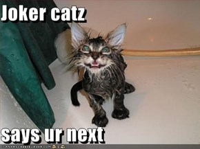 Joker catz  says ur next