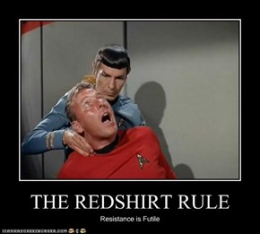 THE REDSHIRT RULE
