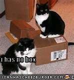 i has no box