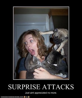 SURPRISE ATTACKS