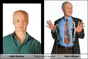 Colin Mochrie Totally Looks Like John Lithgow