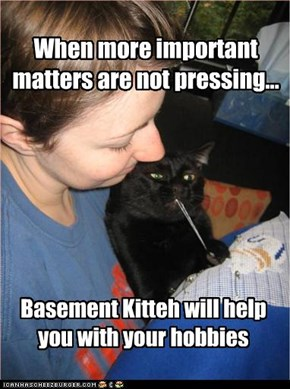When more important matters are not pressing...