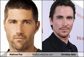 Mathew Fox  Totally Looks Like Christian Bale