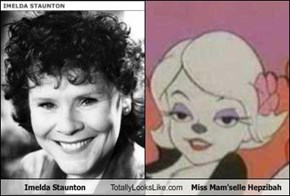 Imelda Staunton Totally Looks Like Miss Mam'selle Hepzibah