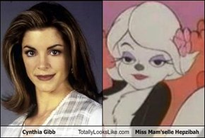 Cynthia Gibb Totally Looks Like Miss Mam'selle Hepzibah