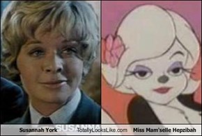Susannah York Totally Looks Like Miss Mam'selle Hepzibah